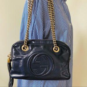 Gucci Soho Disco Double Chain Shoulder Bag